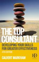 Top Consultant: Developing Your Skills for Greater Effectiveness - Markham, Calvert