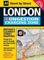 London Congestion Charging Map