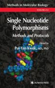 Single Nucleotide Polymorphisms: Methods and Protocols