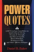 Power Quotes