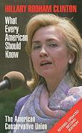 Hillary Rodham Clinton: What Every American Should Know - The American Conservative Union
