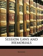 Session Laws and Memorials - Kansas