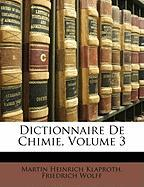 Dictionnaire de Chimie, Volume 3