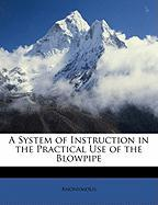 A System of Instruction in the Practical Use of the Blowpipe - Anonymous