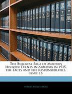 The Blackest Page of Modern History: Events in Armenia in 1915, the Facts and the Responsibilities, Issue 15