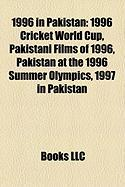 1996 in Pakistan: 1996 Cricket World Cup