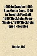 1990 in Sweden: 1990 Stockholm Open, 1990 in Swedish Football, 1990 Stockholm Open - Singles, 1990 Stockholm Open - Doubles