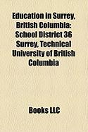 Education in Surrey, British Columbia: School District 36 Surrey
