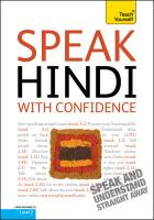 Teach Yourself Speak Hindi with Confidence