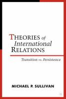 Theories of International Relations, Second Edition