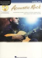 Acoustic Rock: Instrumental Play-Along for Violin