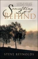 Something Left Behind - Reynolds, Steve