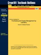 Outlines & Highlights for Purchasing and Supply Management by Leenders, ISBN: 0072370602