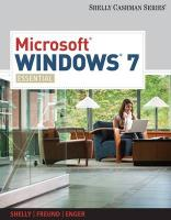 Microsoft® Windows 7 (Shelly Cashman)