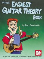 Mel Bay's Easiest Guitar Theory Book