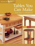 Tables You Can Make: From Classic to Contemporary