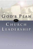 God's Plan for Church Leadership - Staton, Knofel