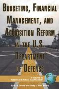 Budgeting, Financial Management, and Acquisition Reform in the U.S. Department of Defense (PB)