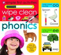 Wipe Clean Phonics - Priddy, Roger