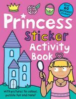 Princess Sticker Activity Book - Priddy, Roger