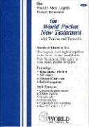 Holy Bible: King James Version, Pocket New Testament (With Psalms & Proverbs)