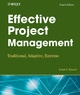 Effective Project Management - Robert K. Wysocki