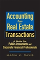 Accounting for Real Estate Transactions - Maria K. Davis