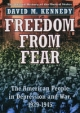 American People in the Great Depression: Freedom from Fear, Part One - David M. Kennedy