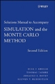 Simulation and the Monte Carlo Method, Student Solutions Manual - Reuven Y. Rubinstein; Dirk P. Kroese