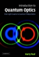Introduction to Quantum Optics - Harry Paul