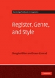 Register, Genre, and Style - Douglas Biber;  Susan Conrad