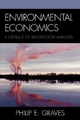 Environmental Economics - Philip E. Graves