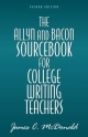 Allyn and Bacon Sourcebook for College Writing Teachers - James C. Mcdonald