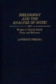 Philosophy and the Analysis of Music - Lawrence Ferrara