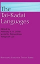 Tai-Kadai Languages - Anthony Diller; Jerry Edmondson; Yongxian Luo