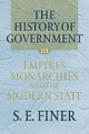 History of Government from the Earliest Times - S. E. Finer