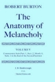 Robert Burton: The Anatomy of Melancholy - Robert Burton; J. B. Bamborough; Martin Dodsworth