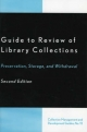 Guide to Review of Library Collections - Dennis K. Lambert; Winston Atkins; Douglas A. Litts; Lorraine H. Olley