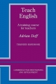 Teach English Trainer's handbook - Adrian Doff