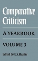 Comparative Criticism - E. S. Shaffer