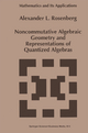 Noncommutative Algebraic Geometry and Representations of Quantized Algebras - Alexander L. Rosenberg