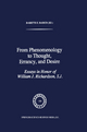 From Phenomenology to Thought, Errancy and Desire - Babette E. Babich