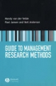 Guide to Business Research Methods - Mandy van der Velde; Paul Jansen; Neil Anderson