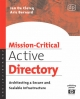 Mission-Critical Active Directory - Jan de Clercq; Aric Bernard