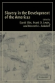 Slavery in the Development of the Americas - David Eltis; Frank D. Lewis; Kenneth L. Sokoloff