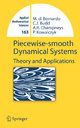 Piecewise-smooth Dynamical Systems - Mario di Bernardo; Chris Budd; Alan Champneys; Piotr Kowalczyk