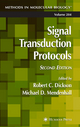 Signal Transduction Protocols - Robert C. Dickson; Michael D. Mendenhall