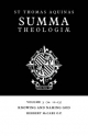 Summa Theologiae: Volume 3, Knowing and Naming God - Saint Thomas Aquinas; Herbert McCabe