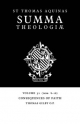 Summa Theologiae: Volume 32, Consequences of Faith - Saint Thomas Aquinas; Thomas Gilby