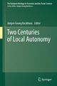 Two Centuries of Local Autonomy - Jurgen Backhaus